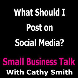 What Should I Post on Social Media?